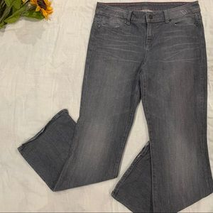 Talbots Washed Out Gray Signature Boot Cut Sz 10P